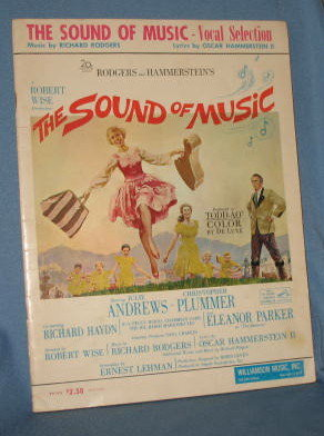 Rogers and Hammerstein's The Sound of Music music folio