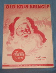 Old Kris Kringle sheet music