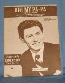 Oh! My Pa-Pa sheet music