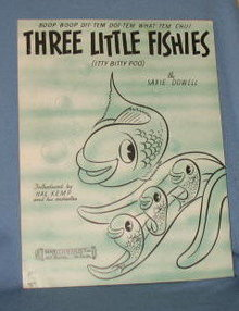 Three Little Fishes sheet music