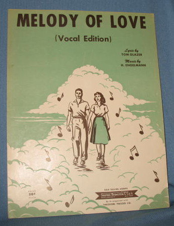 Melody of Love sheet music
