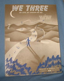 We Three sheet music