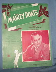 Mairzy Doats sheet music