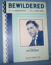 Bewildered sheet music