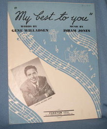 My Best to You sheet music