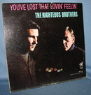 The Righteous Brothers : You've Lost That Lovin' Feelin' 33 RPM LP record