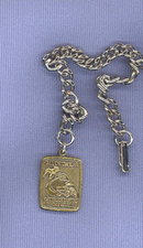 Mack Truck, Allentown PA watch fob and chain