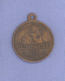 Old Charter Key Club key chain tab