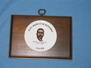 Black Builder of the Bicentennial Martin Luther King, Jr. wall plaque