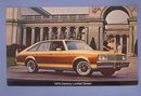 1979 Buick Century Limited Sedan  color photo postcard from C & G Buick Emmaus, PA