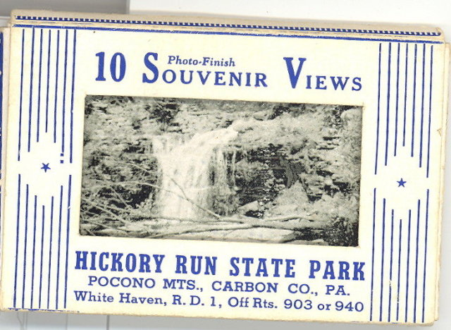 10 Photo-Finish Souvenir Views of Hickory Run State Park, White Haven, PA