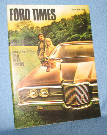 October 1970 Ford Times