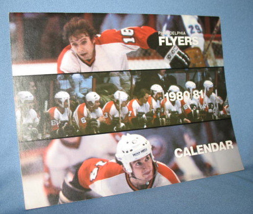 1980/81 Philadelphia Flyers Calendar