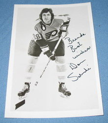 Philadelphia Flyers Don Saleski autographed picture