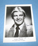 Philadelphia Flyers Bernie Parent autographed picture