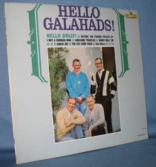 Hello Galahads! 33 RPM LP record album