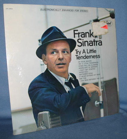 Frank Sinatra : Try a Little Tenderness 33 RPM LP record album