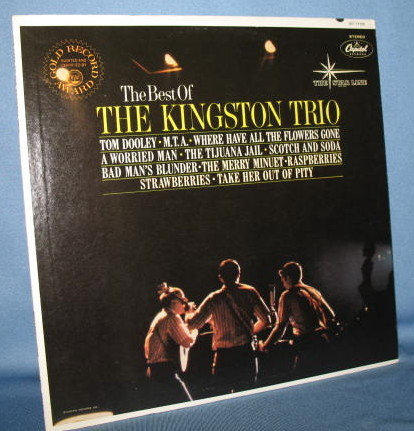 The Best of The Kingston Trio 33 RPM LP record album