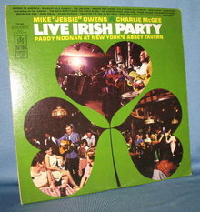 Live Irish Party 33 RPM LP