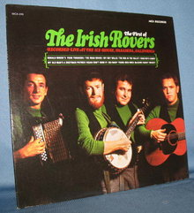The First of The Irish Rovers 33 RPM LP