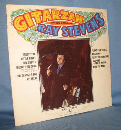 Ray Stevens : Gitarzan 33 RPM LP record