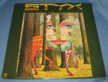Styx : The Grand Illusion 33 RPM LP record