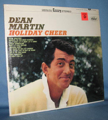 Dean Martin : Holiday Cheer 33 RPM LP record