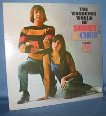 The Wondrous World of Sonny & Cher  33 RPM LP record