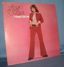 Nancy Wayne : I Wanna Kiss You 33 RPM LP record