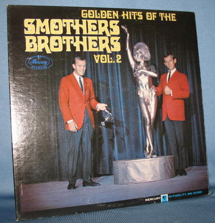 Golden Hits of the Smothers Brothers Vol. 2  33 RPM LP record