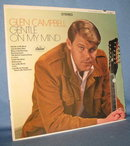 Glen Campbell : Gentle On My Mind  33 RPM LP record