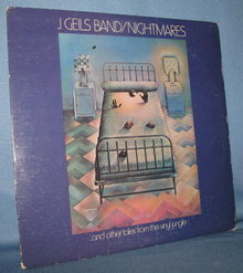 J. Geils Band : Nightmares 33 RPM LP record