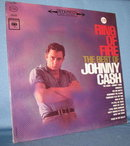Ring of Fire : The Best of Johnny Cash 33 RPM LP record