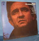 Hello, I'm Johnny Cash 33 RPM LP record