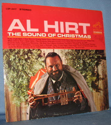 Al Hirt : The Sound of Christmas 33 RPM LP record