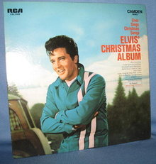 Elvis' Christmas Album 33 RPM LP record