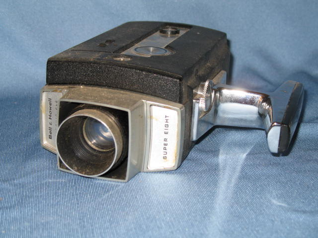 Bell & Howell Autoload Optronic Eye Super Eight movie camera