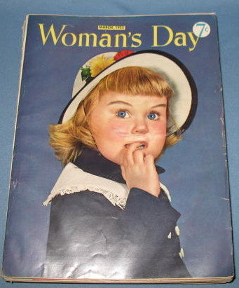March, 1952 Woman's Day magazine