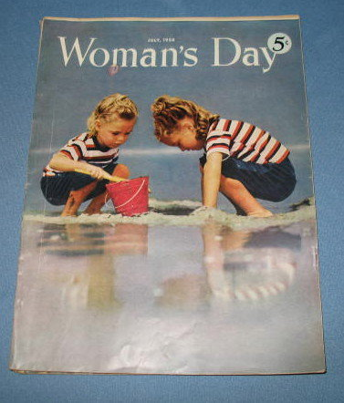 July, 1950 Woman's Day magazine
