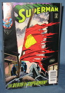 Superman : The Death of Superman  No. 75 comic book