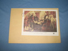 1976 The Declaration of Independence, 4 July 1776 at Philadelphia first day cover