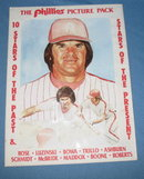 Phillies Picture Pack : 10 Stars of the Past and Stars of the Present sealed pack