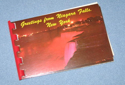 Greetings from Niagara Falls folio