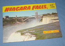 Niagara Falls, NY Natural Color photo booklet