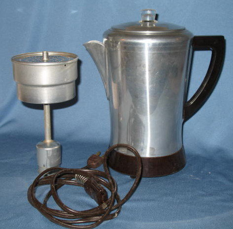 Hawthorn 6 to 8 cup electric coffee percolator