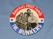 All in the Family  Bunkers pinback button