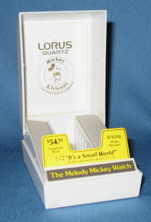 Lorus Quartz Melody Mickey Watch case