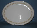 Sheffield Imperial Gold oval platter