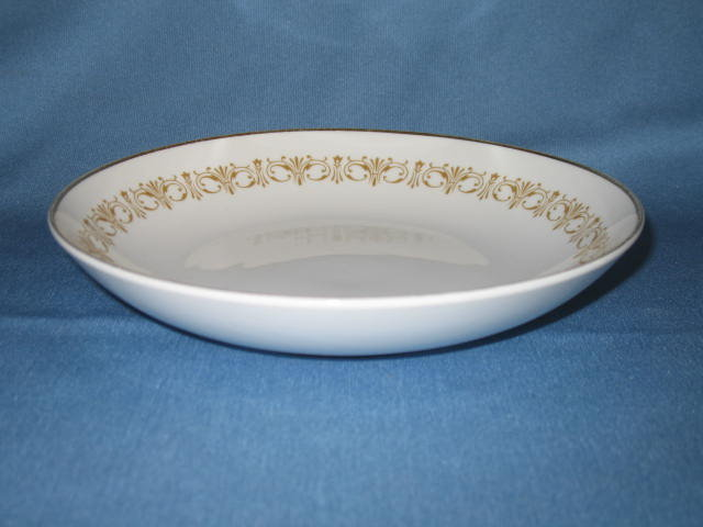 Sheffield Imperial Gold soup bowl