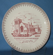 Grace Lutheran Church, Queens Village, New York souvenir plate
